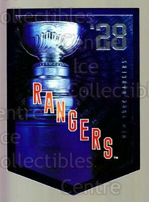 2011-12 Panini Molson Coors Stanley Cup Champions #1928 New York Rangers