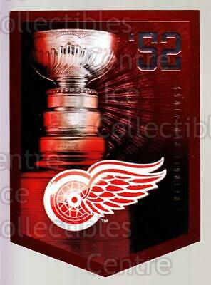 2011-12 Panini Molson Coors Stanley Cup Champions #1952 Detroit Red Wings