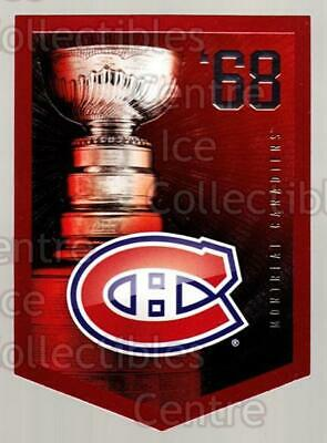 2011-12 Panini Molson Coors Stanley Cup Champions #1968 Montreal Canadiens