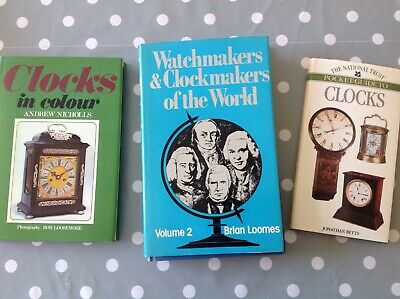 Watch & Clockmakers of the World 2. Brian Loomes Plus 2 Other Books