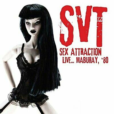 SVT - Sex Attraction Live... Mabuhay, '80 (2016)  CD  NEW/SEALED  SPEEDYPOST