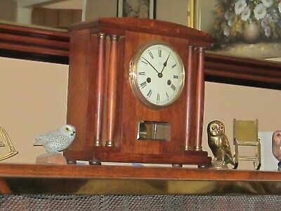 Antique Hac  Striking Mantel Clock In Very Good Working Order