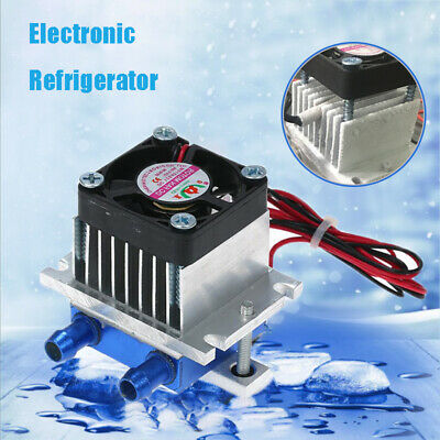 12V 6A 72W Thermoelectric Peltier Refrigeration Cooling Cooler Fan System Heat