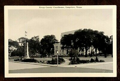 1940S GREGG COUNTY COURTHOUSE LONGVIEW TEXAS TX  VTG