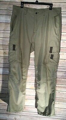 c8d199808bca3 Magellan Men's Sportswear Outdoor Camping Fishing Cargo Tan Pants Size 38  ...