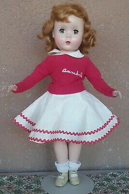 Madame Alexander vintage Maggie face doll Kate Smith's Annabelle 1950s tagged