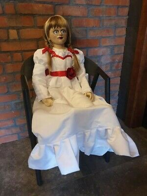 ANNABELLE CREATION LIFESIZE Doll Prop RARE the Conjuring Movie Films