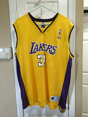 official photos f20aa 19427 TODDLER BOYS VINTAGE Nike Shaq Shaquille O'Neal #34 LA ...