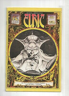 Elric #1 FN 1983 Stock Image