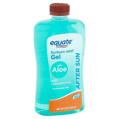 Equate Soothing Aloe After Sun Gel With Soothing Lidocaine [20z] Brand New