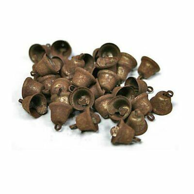 Liberty Bells Rusty Metal Country Primitive Craft Supplies 3/4 inch Set of 36