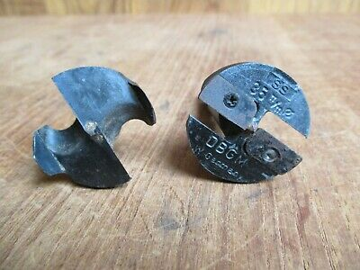 2 X FORSTER DRILL BITS – MADE IN GERMANY inc KREFTING DB GM – WOODWORKING BORING