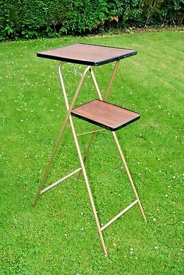VINTAGE PROJECTOR PROJECTION TABLE STAND TABLE FOR CINE AV ETC Great Condition