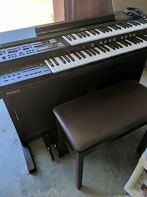 ROLAND ATELIER 15 AT-15 Electronic Keyboard Organ Midi LOCAL PICKUP MILFORD  DE