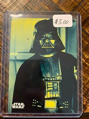 2018 Topps Star Wars A New Hope:Black & White Blue Parallel Card #39