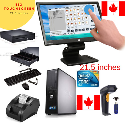 22 inch Touchscreen  POS all-in-one Point of Sale System Retail Store CANADA