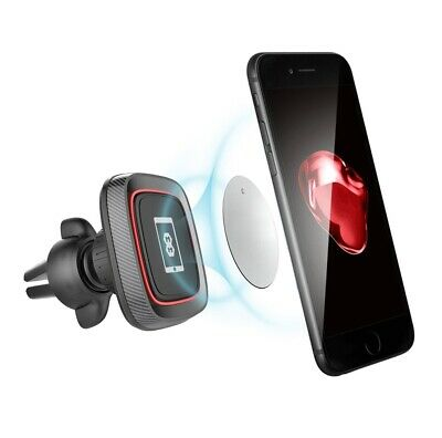 Mega Mounts® Aluminium In Car Magnetic Phone Holder Air Vent Universal Mount