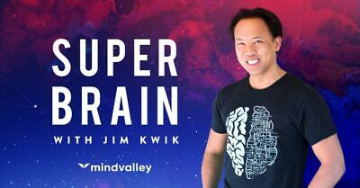 Jim Kwik – Unleash Your Brain | 12.72 GB FULL COURSE+FAST DELIVERY
