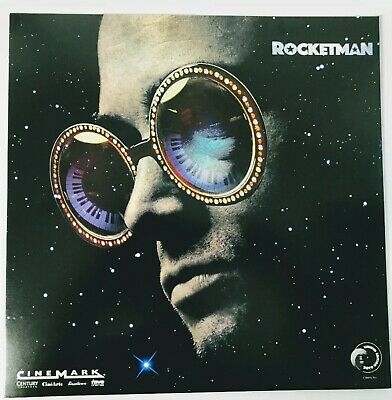 "ROCKETMAN ELTON JOHN CINEMARK PROMO MOVIE POSTER 12"" x 12"" 2019  FREE SHIPPING"