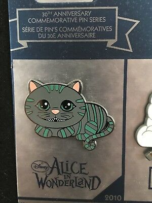 Disney LE Disney Store 30TH Anniversary Pin ** Alice in Wonderland CHESHIRE CAT