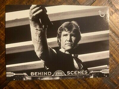 2018 Topps Star Wars A New Hope:Black & White Behind The Scenes #BTS-16