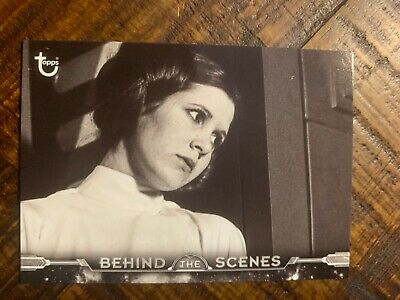 2018 Topps Star Wars A New Hope:Black & White Behind The Scenes #BTS-17