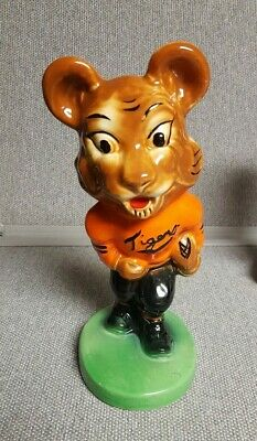 Vintage 1940's early 1950's  Massillon Tigers Mascot  Stanford Pottery Bank WOW!