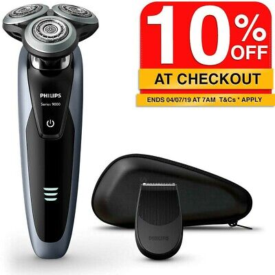Philips S9111 Wet/Dry Cordless Rechargeable Electric Shaver/Beard Hair Trimmer