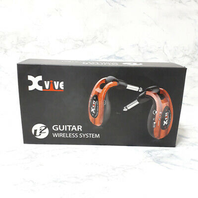 Xvive U2 rechargeable 2.4GHZ Wireless Guitar System Wood
