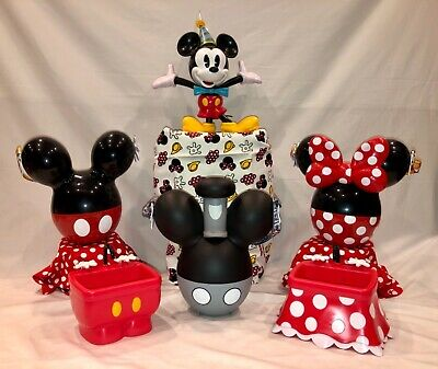 Disney Mickey and Minnie 90th Birthday Steamboat Willie AP Popcorn Sipper Sink