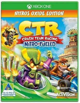 Crash Team Racing Oxide Ed. Xbox One (Download /Read Description before buying)