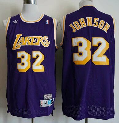 LA LAKERS LEGEND star #32 Magic Johnson vintage jersey