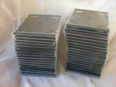 Lot De 33 Boitiers De Cd/Dvd 2 Emplacements