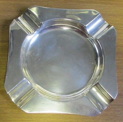 1972 Hallmarked Sterling Silver Ashtray