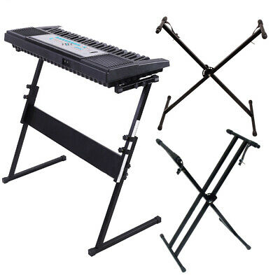Keyboard Piano Single/Double X or Z Stand Electric Organ Rack Height Adjustable
