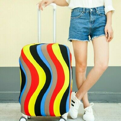 Elastic airport Travel Luggage Suitcase Spandex Cover Protector Dustproof S-XL