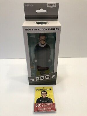 RUTH BADER GINSBURG RBG Action FIGURE Supreme Court Justice FCTRY NEW