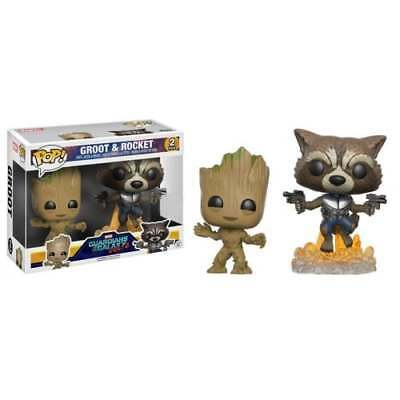 POP! Marvel - Guardians Of The Galaxy Groot & Rocket 2-Pack