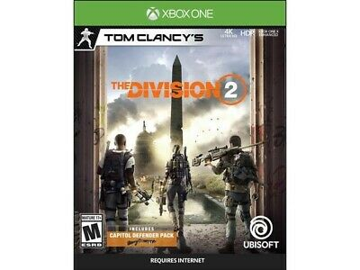 The Division 2 Xbox One (No-Cd ) Castellano,Inglés ( All Languages)