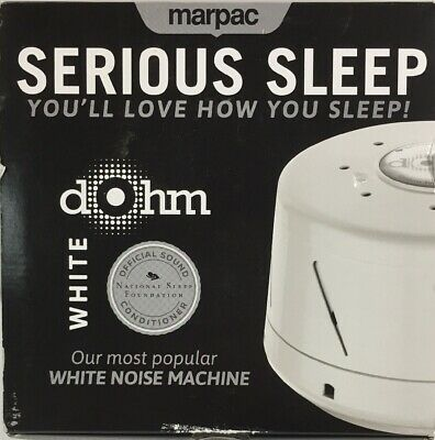 Marpac Dohm Classic The Original White Noise Machine Soothing Natural Sound - OB