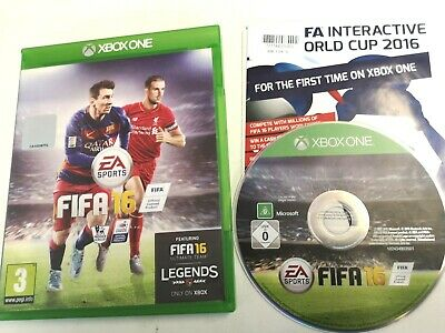 * XBOX ONE Game * FIFA 16 Football 2016 *