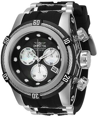 Invicta 28160 Bolt Men's 53mm Chronograph Stainless Steel Black Dial Watch