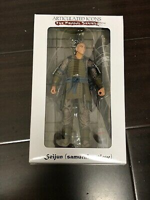FWOOSH Articulated Icons Feudal Series Seijun Samurai Outlaw - Sealed