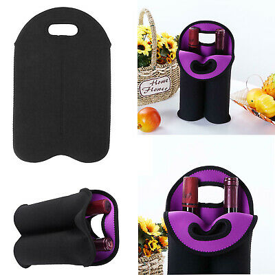 Hand-held Neoprene Bottle Cooler Wine-bottle Bag Protective Sleeve Cover