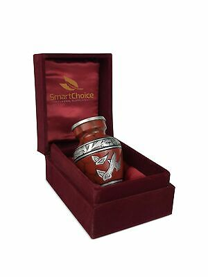 SmartChoice Urn Keepsake for Ashes Cremation Urn Keepsake for Human Ashes - A...