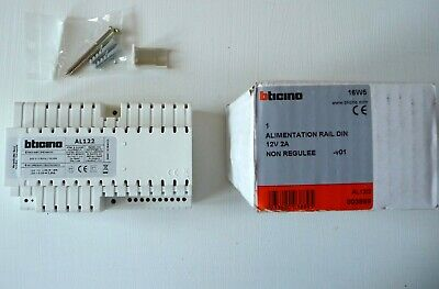 Alimentation alternative et continue 230V 12V 2A 003889 BTICINO / LEGRAND NEUF