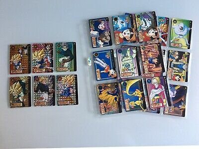 Dragon Ball GT Carddass Hondan Part 27 FULL SET 42 Cards In Excellent Condition!