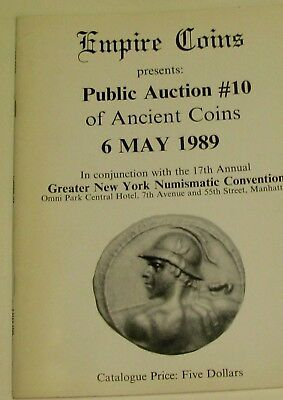 (Pgasteelers1)Empire Coins Auction#10 1989 Ancient,Greek,Roman,Jewish City Coins