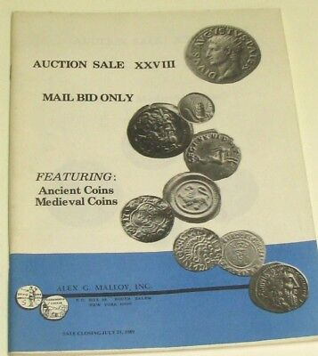 (Pgasteelers1)Alex Malloy,Inc. AuctionXXVII Ancient & Medeival Coins Unsued copy