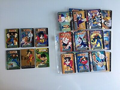 Dragon Ball GT Carddass Hondan Part 30 FULL SET Special Gold 200 194 Unpeeled